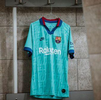 O 3º uniforme do Barça