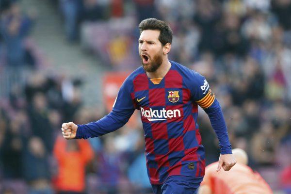 Com quatro gol contra o Eibar, Messi disparou na artilharia da Liga Espanhola, agora com 18 gols.
