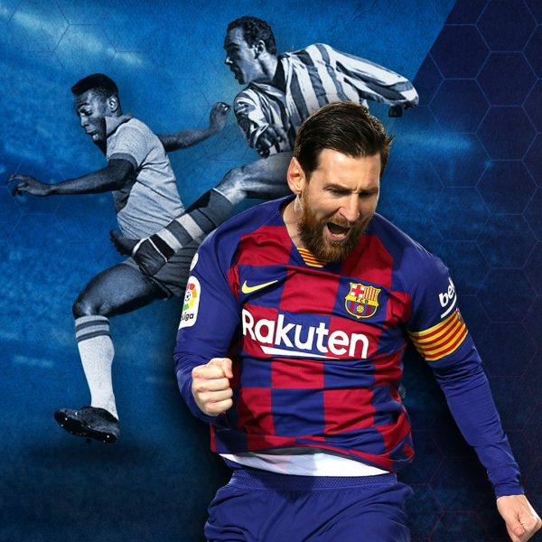 Messi pode superar Pelé e Zarra e conseguir duas novas marcas históricas na carreira / FCB