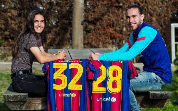 Os irmãos Ari e Óscar Mingueza, um caso único no futebol espanhol.