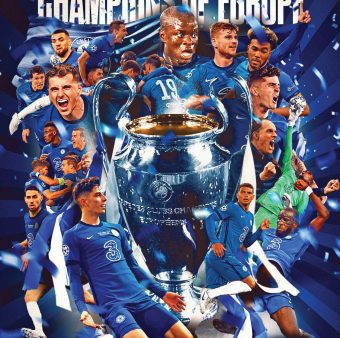 Chelsea, campeão da Champions League 2020/21 / Twitter: @ChelseaFC