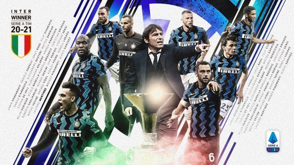 Após 11 anos, a Inter de Milão volta a comemorar o título italiano / Twitter: @SerieA