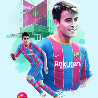 O zagueiro Eric García está de volta ao Barcelona / Twitter: @FCBarcelona_br